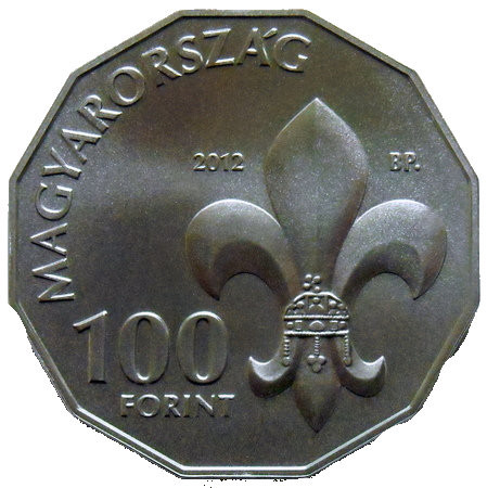 Hungary 100 Forints (Hungarian Scouts)