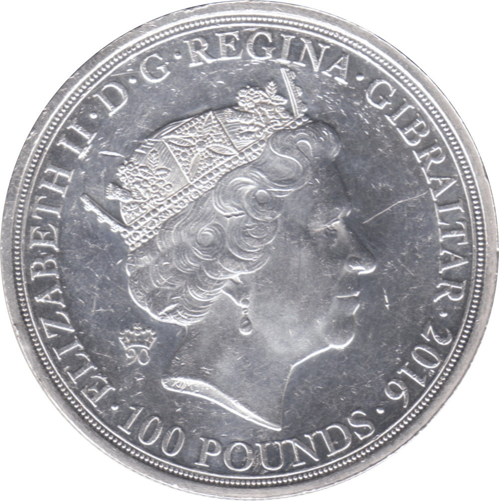Gibraltar 100 Pounds