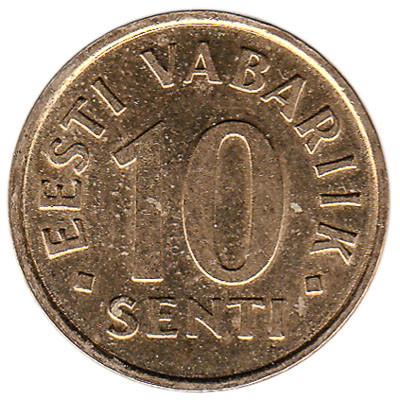 Estonia 10 Senti