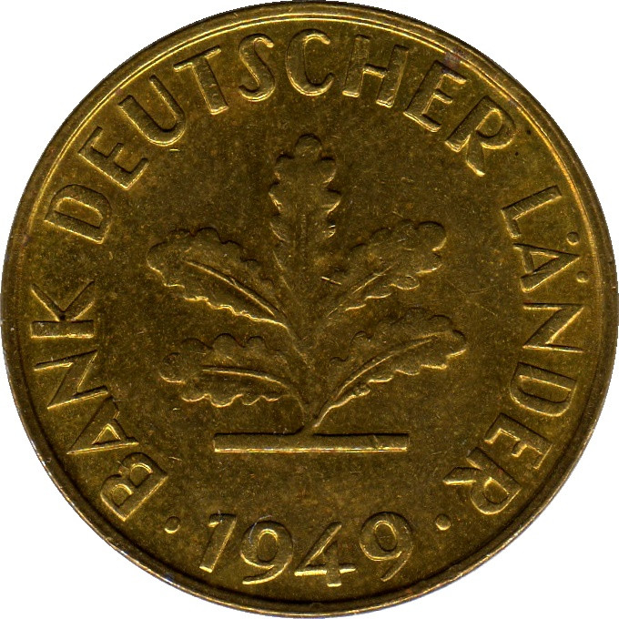 Germany 10 Pfennig