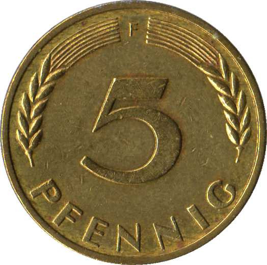 Germany 5 Pfennig
