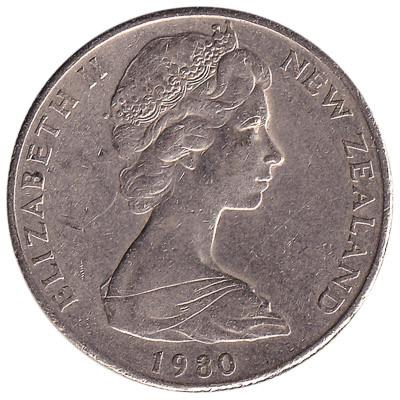 New Zealand 50 Cent (Large Type)