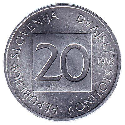 Slovenia 20 Stotinov