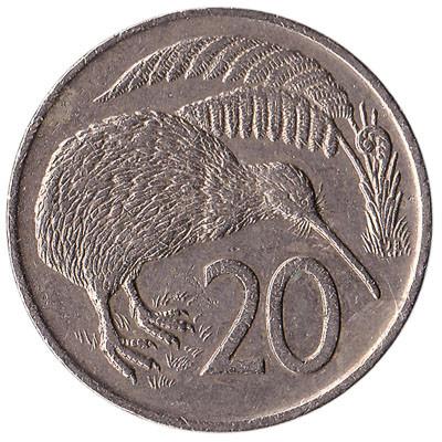 New Zealand 20 Cent