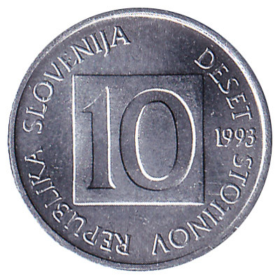 Slovenia 10 Stotinov