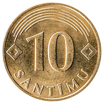 Latvia 10 Santimu
