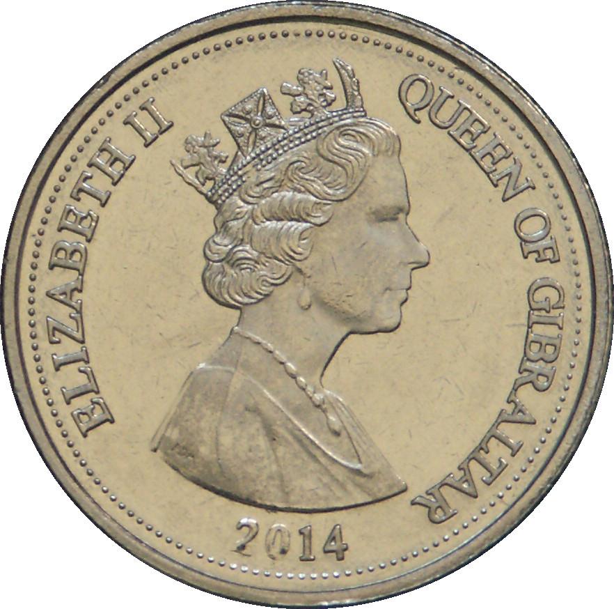 Gibraltar 10 Pence