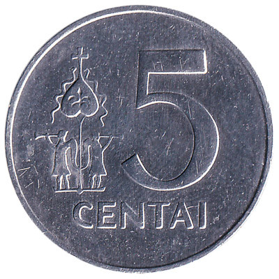 Lithuania 5 Centai
