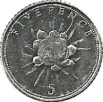 Gibraltar 5 Pence