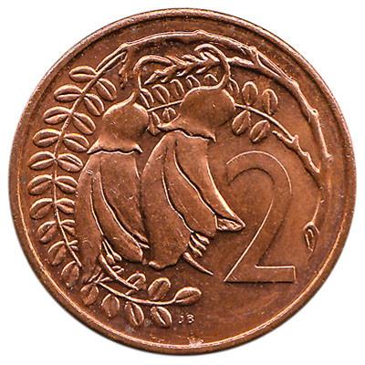 New Zealand 2 Cent