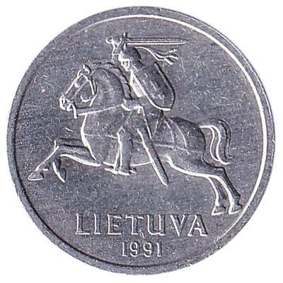Lithuania 1 Centas