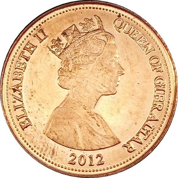Gibraltar 1 Penny
