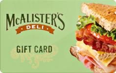 McAlister's Deli - 45%