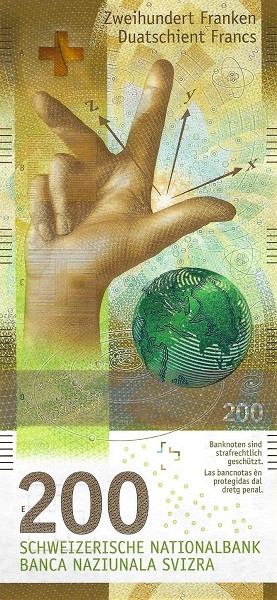 Switzerland 200 Francs (9th Series)