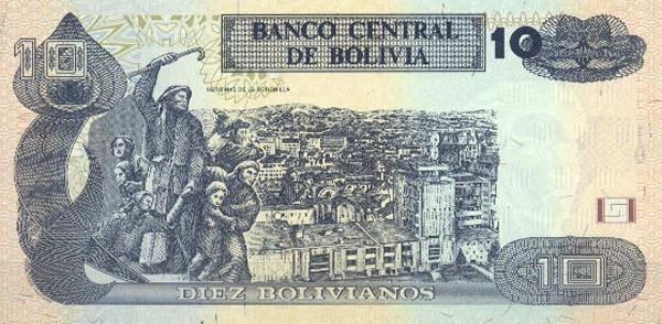 Bolivia 10 Bolivianos