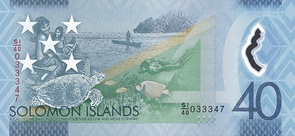 Solomon Islands 40 Dollars