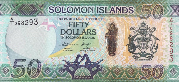 Solomon Islands 50 Dollars
