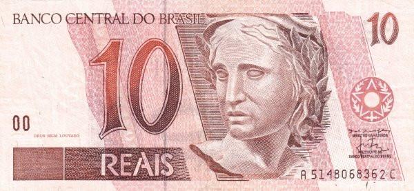 Brazil 10 Reais