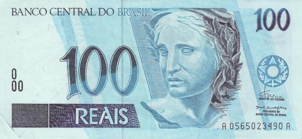 Brazil 100 Reais