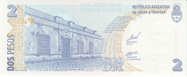 Argentina 2 Pesos