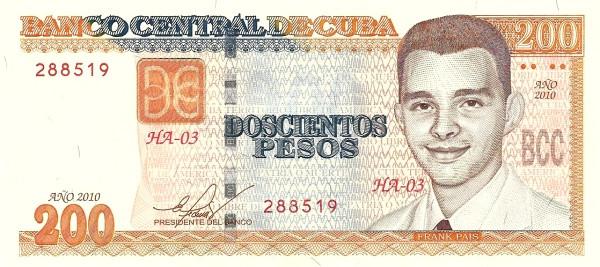 Cuba 200 Pesos