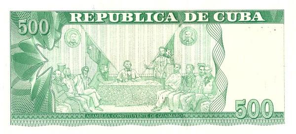 Cuba 500 Pesos