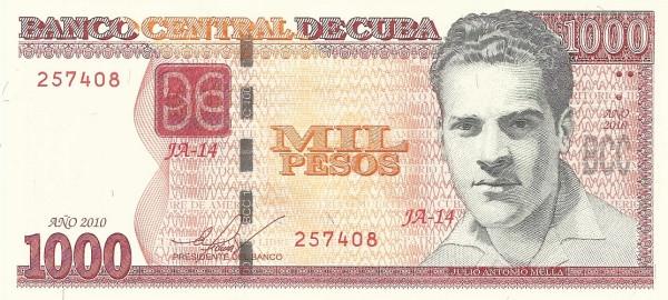 Cuba 1,000 Pesos