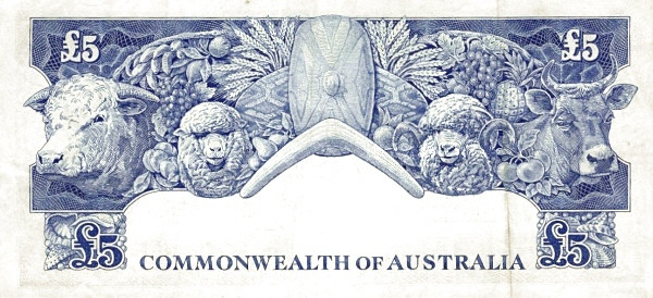 Australia 5 Pounds (RESERVE BANK OF AUSTRALIA)