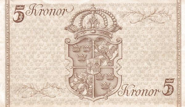 "Sweden 5 Kronor(1948 90th Birthday of Gustaf V"")"""