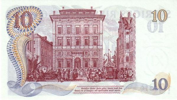 """Sweden 10 Kronor(1968 300 Years Sveriges Riksbank"""" )"""""""