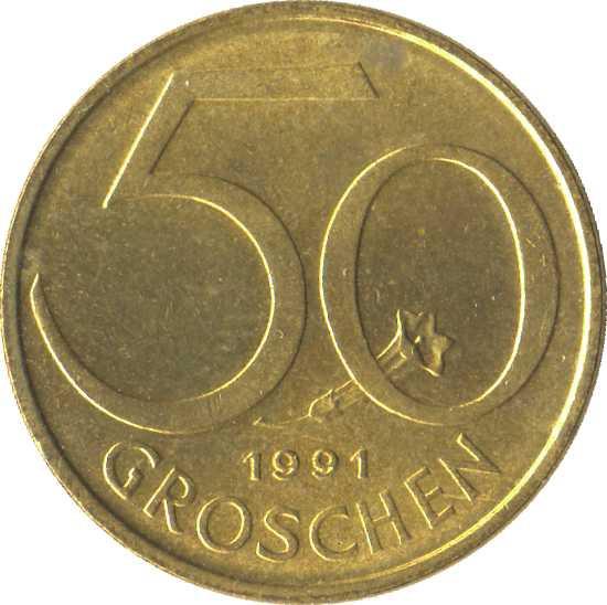 Austria 50 Groschen