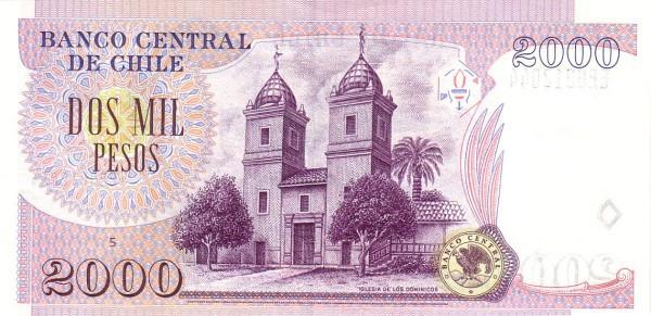 Chile 2000 Pesos