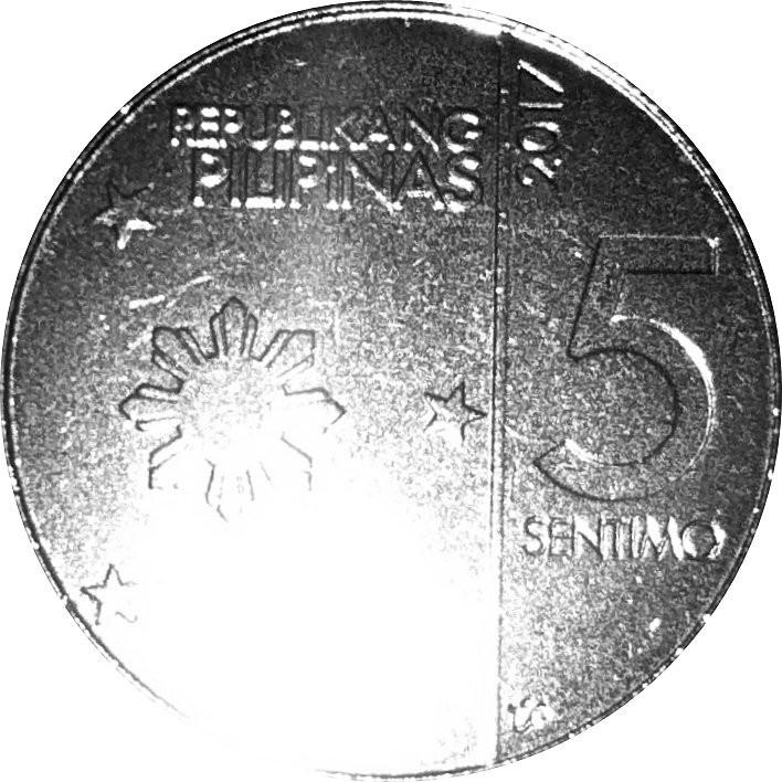 Philippines 5 Sentimo (New Generation)