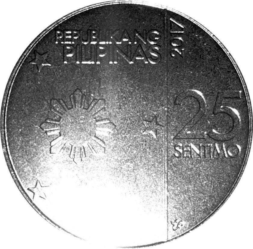Philippines 25 Sentimo (New Generation)