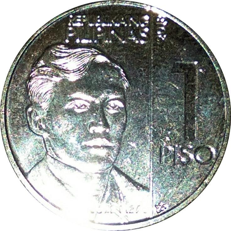 Philippines 1 Piso (New Generation)