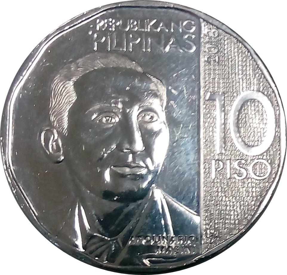 Philippines 10 Piso (New Generation)
