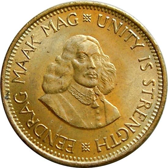South Africa ½ Cent (Jan Van Riebeeck 1961-1964)