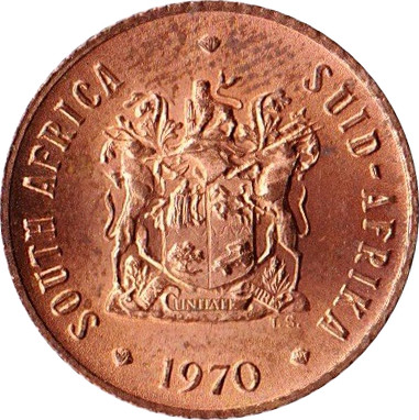 South Africa ½ Cent (SUID-AFRIKA 1970-1983)