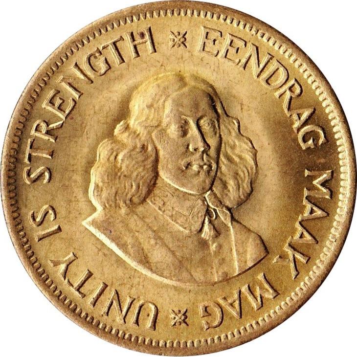 South Africa 1 Cent (Jan Van Riebeeck 1961-1964)