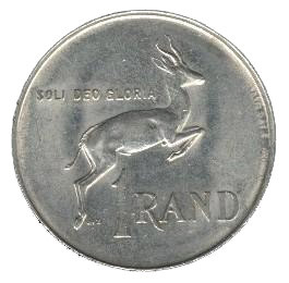 South Africa 1 Rand (Pieter W. Botha)