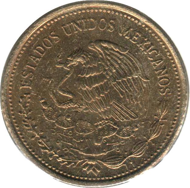 Mexico 100 Pesos (Venustiano Carranza Garza 1984-1992)