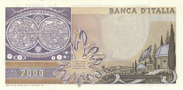 Italy 2000 Lire (1969-1983)