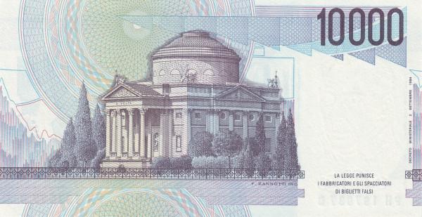 Italy 10000 Lire (1984-1985)