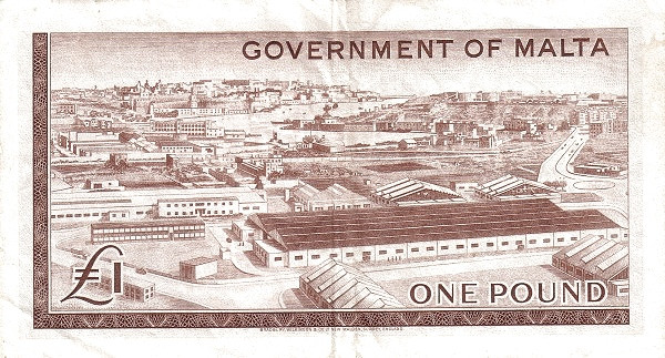 Malta 1 Pound (1963 - Elizabeth II)