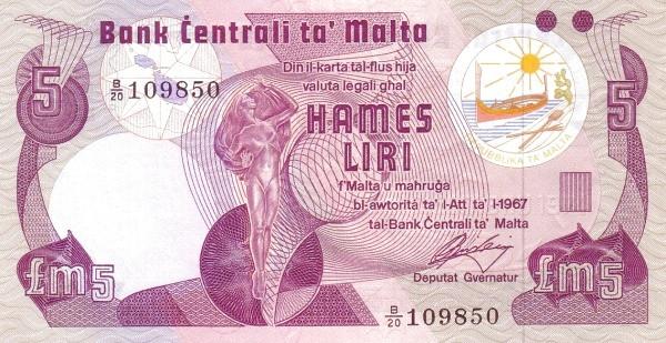 Malta 5 Liri  (1979)