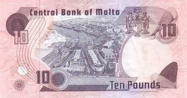 Malta 10 Liri  (1979)
