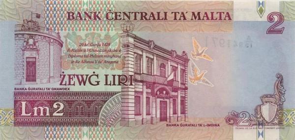 Malta 2 Liri  (1994)
