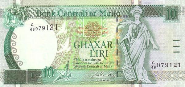 Malta 10 Liri  (1994)