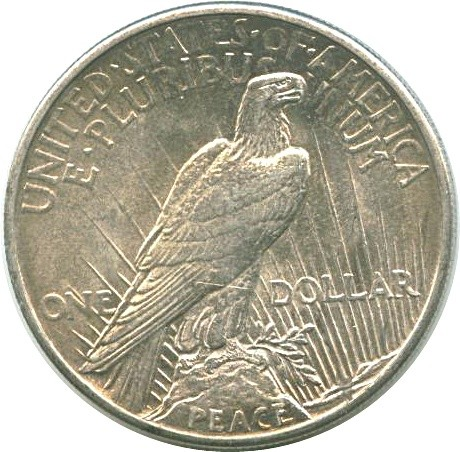 United States 1 Dollar (Peace Silver)