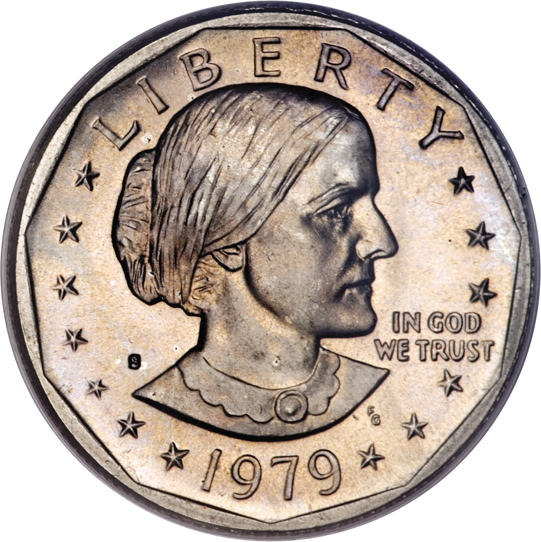 United States 1 Dollar (Susan B. Anthony)